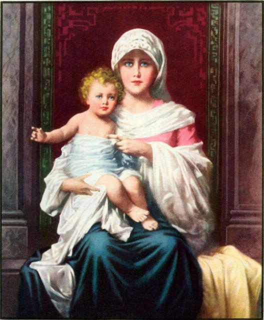 Mary with the Child Jesus Matthew 2:11