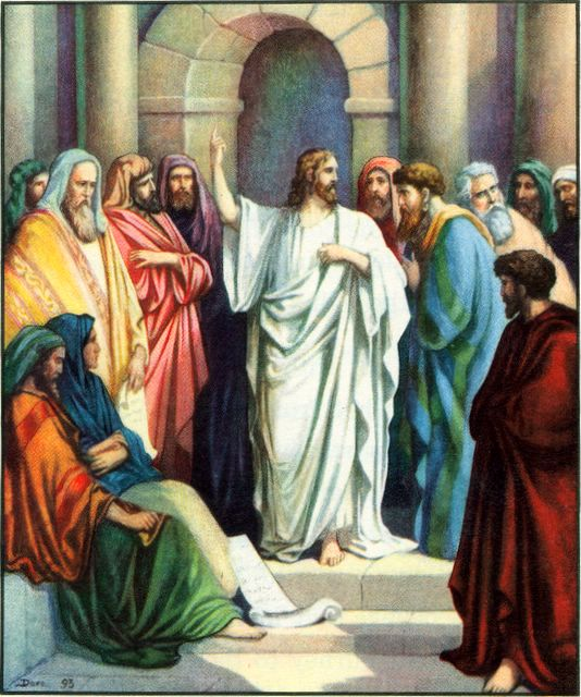 Jesus Teaching in the Temple Mark 12:35