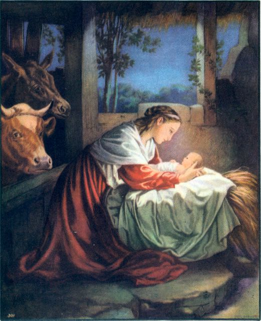 They Found Mary, Joseph, and the Babe Lying in a Manger Luke 2:16