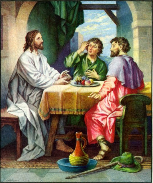 Jesus Reveals Himself at Emmaus Luke 24:30-31