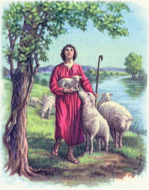Young David was a shepherd Psalm 78:70