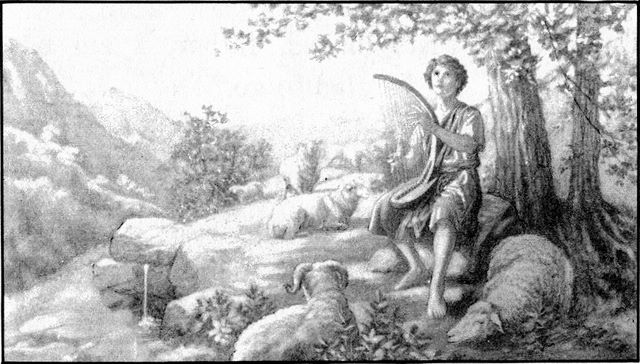 Young David was skillful in playing the harp I Samuel 16:17-19