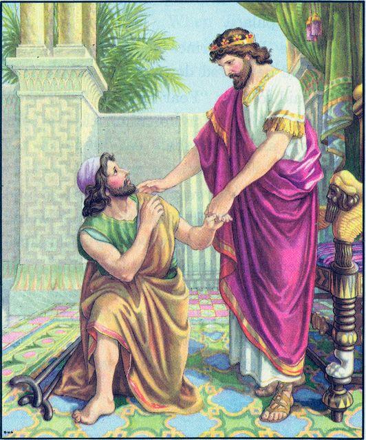 David Shows Kindness to Jonathan's Son, Mephibosheth II Samuel 9:3-8