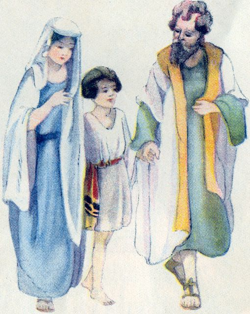 Jesus Returned to Nazareth Luke 2:51