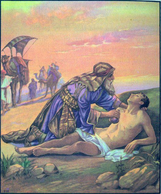 The Good Samaritan Luke 10:33-34
