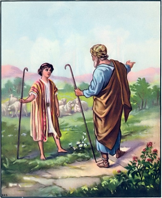 Joseph, search for his brothers, is told they had gone to Dothan Genesis 37:15-17