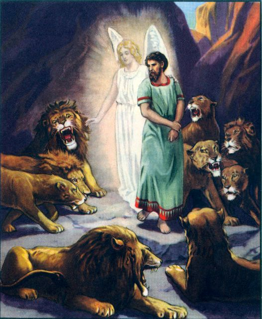 Daniel is Protected from the Lions Daniel 6:22