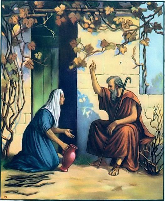 Elijah and the woman at Zarephath I Kings 17:10-14