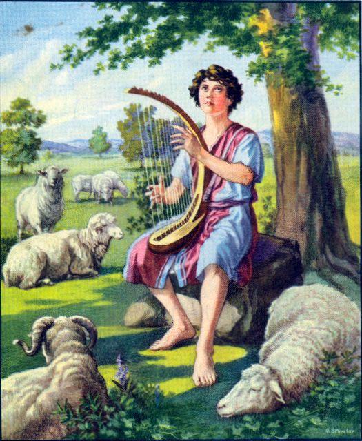 David Plays the Lyre I Samuel 16:18