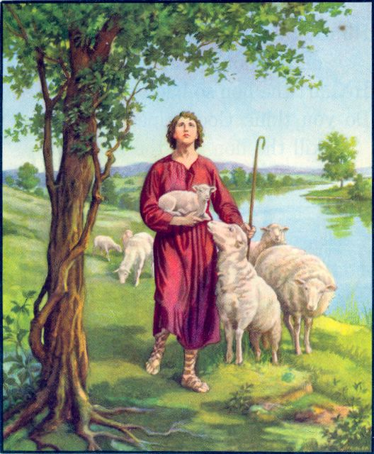 David Continued to Care for His Father's Sheep I Samuel 17:15