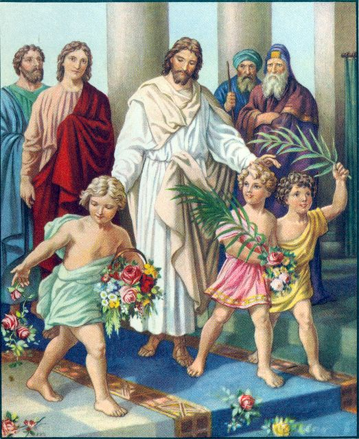 Children Crying Out in the Temple Matthew 21:15-16