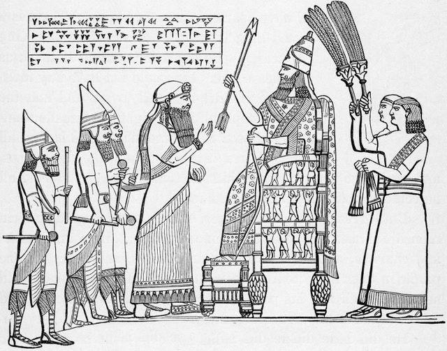 Rabsaces before Sannacherib II Kings 18:3