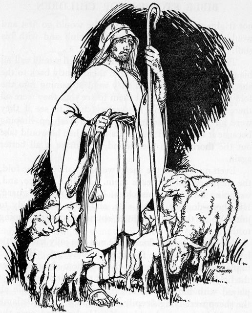The Sheep Knows the Shepherd's Voice (John 10:4)
