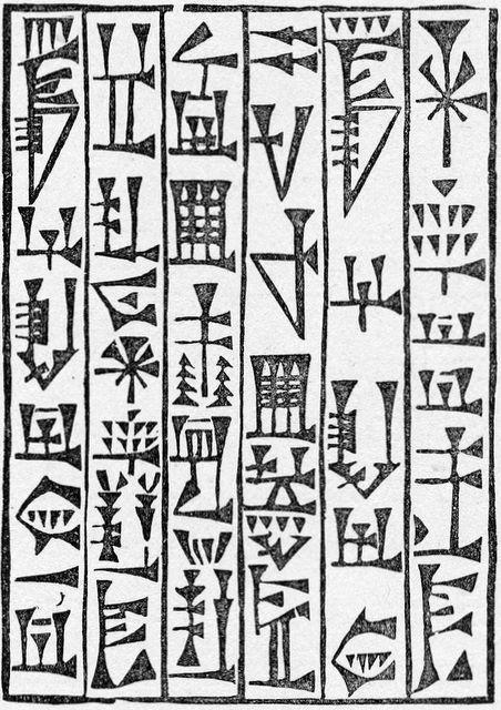Babylonian writing
