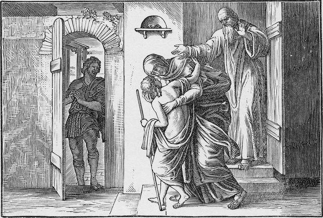 Elisha restores the Shunamite's son II Kings 4:36-37