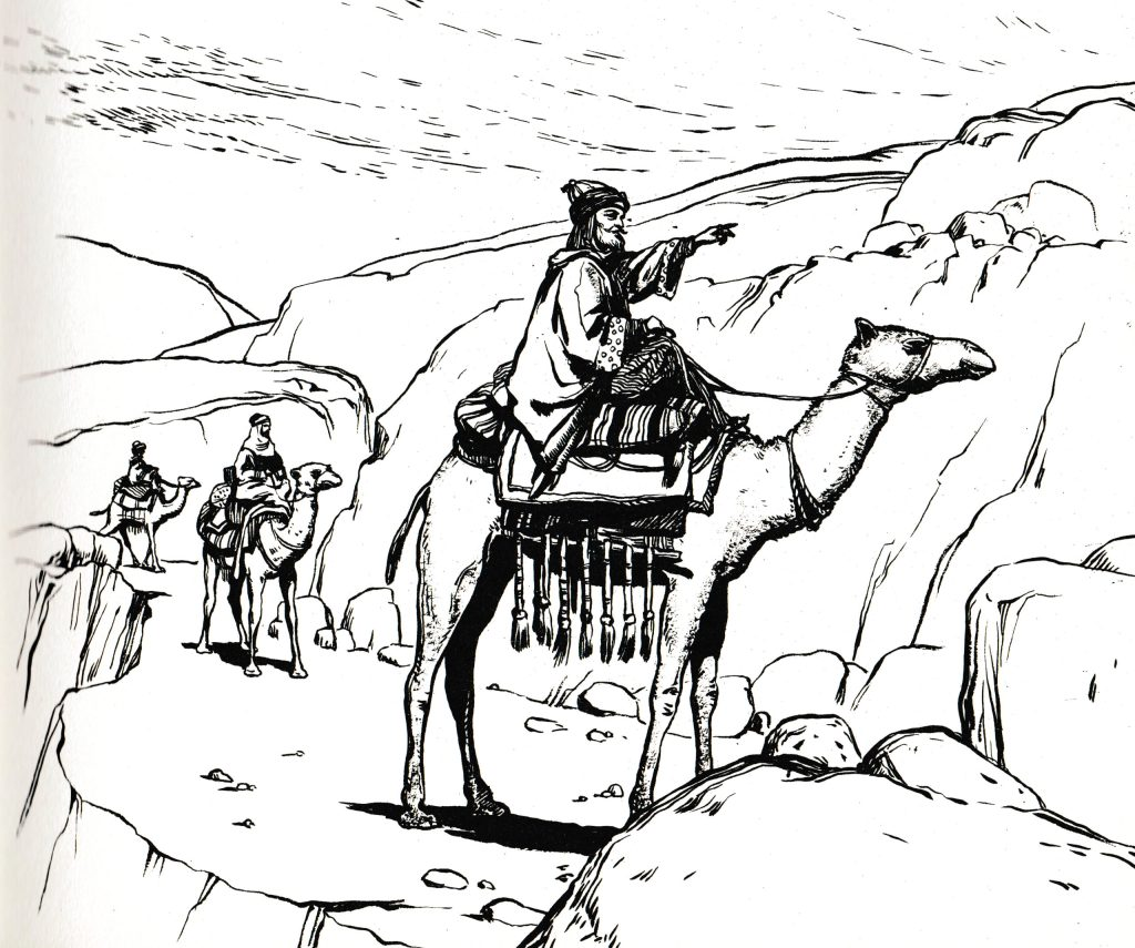 The magi came from the east (Matthew 2:2)