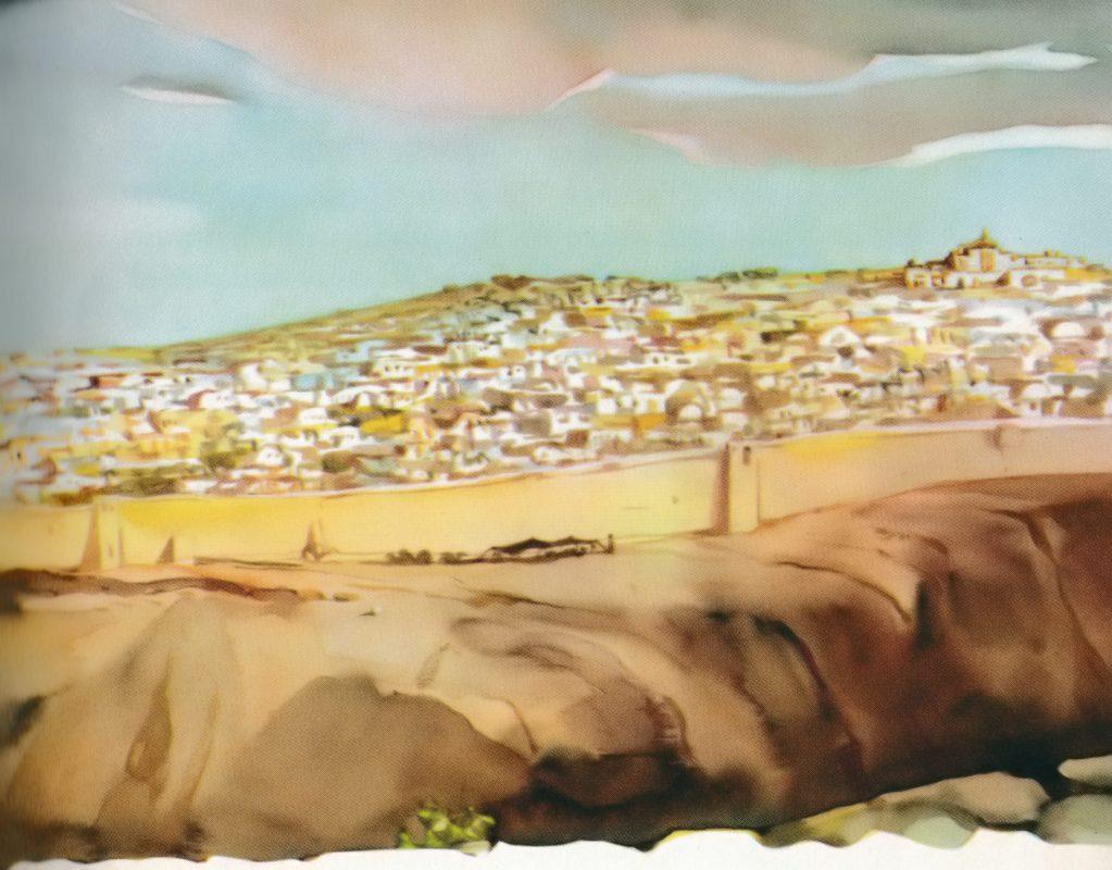 Jerusalem (Luke 2:22)