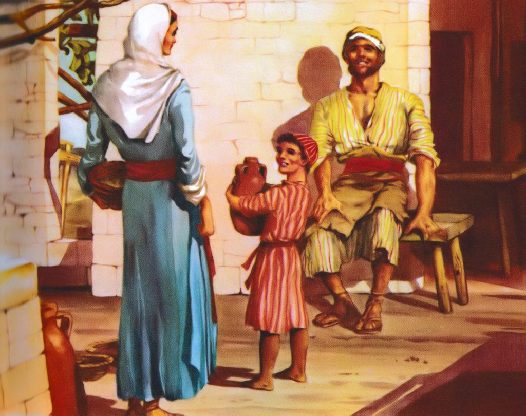 Jesus grows up in Nazareth (Luke 2:39-40)