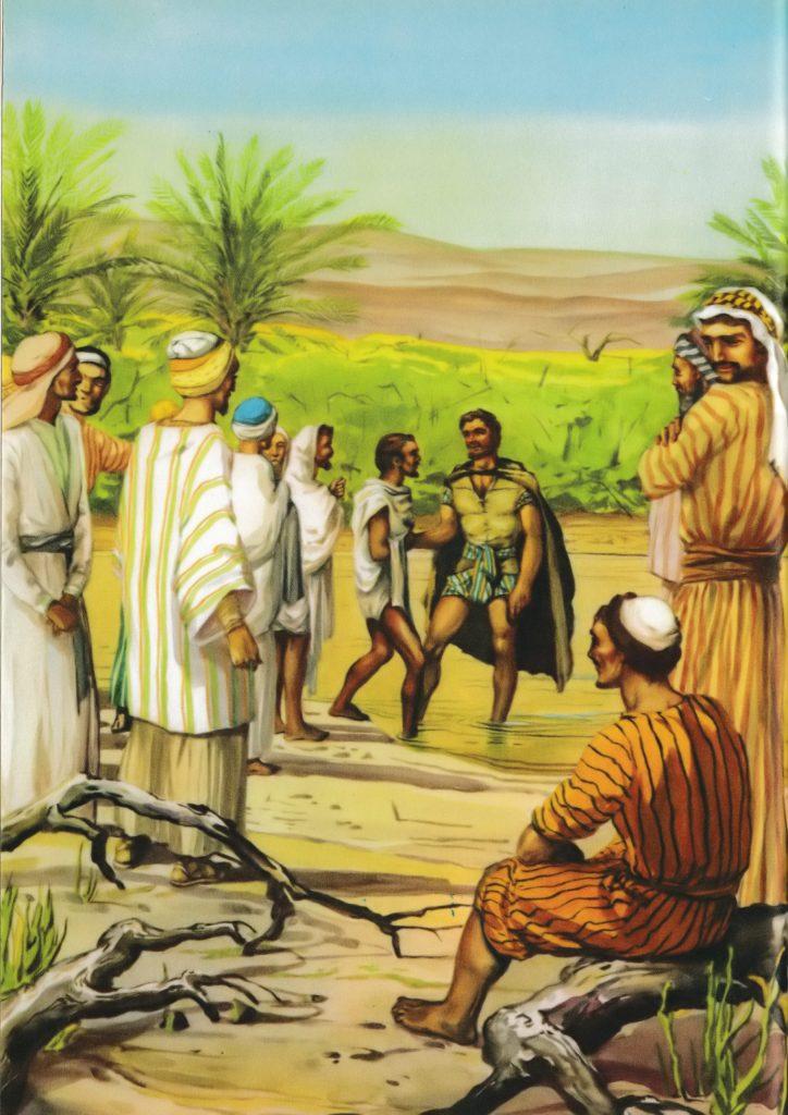 John baptizing many (Matthew 3:5-6)