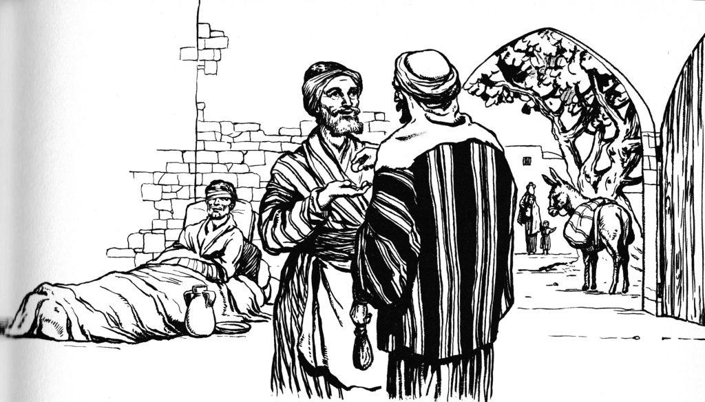 The good Samaritan (Luke 10:33-35)