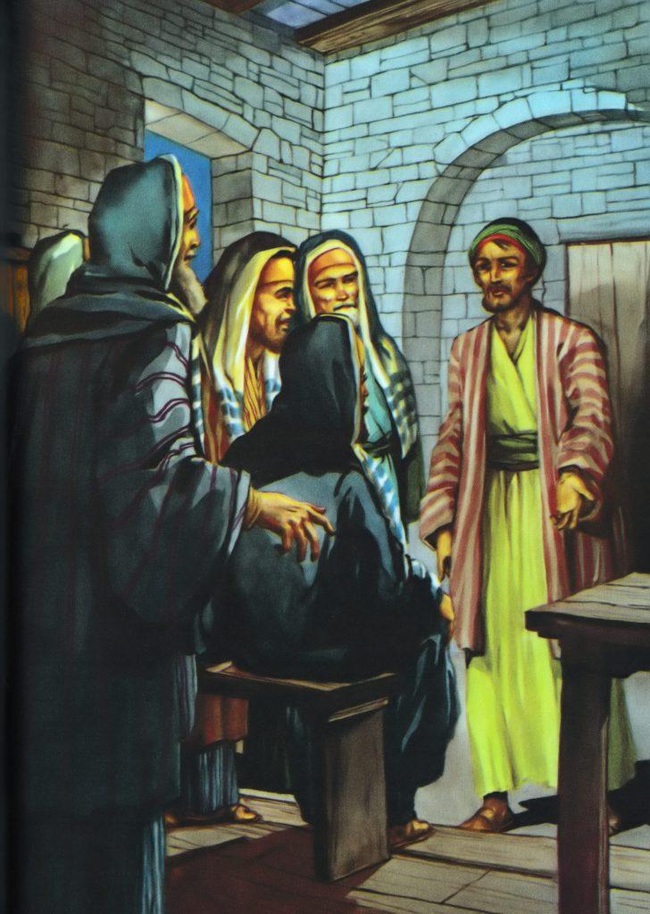 Judas offers to betray Jesus (Matthew 26:14-15)