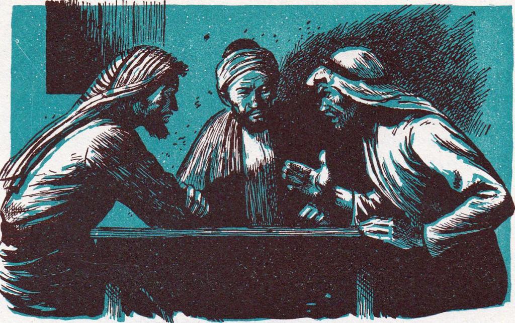 The twelve sent out to teach (Matthew 10)