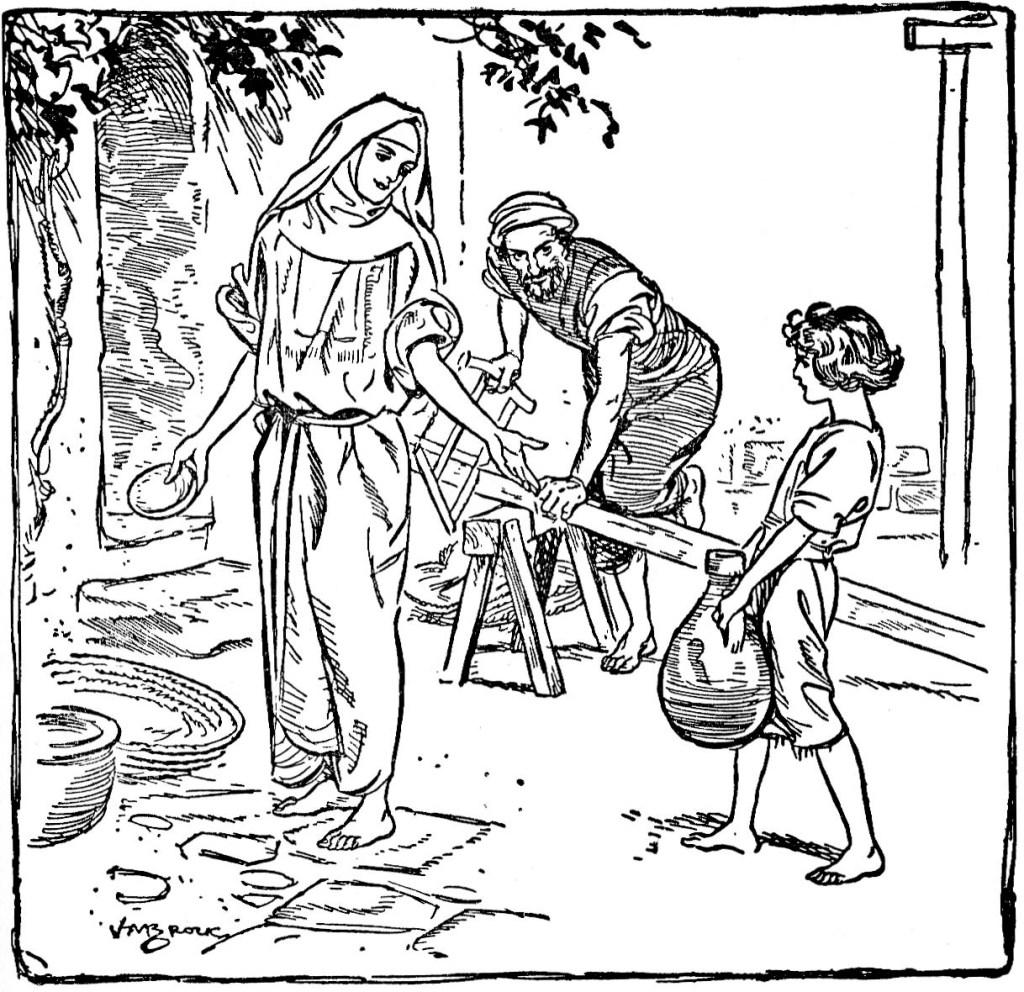 Jesus grew up in Nazareth (Luke 2:51)
