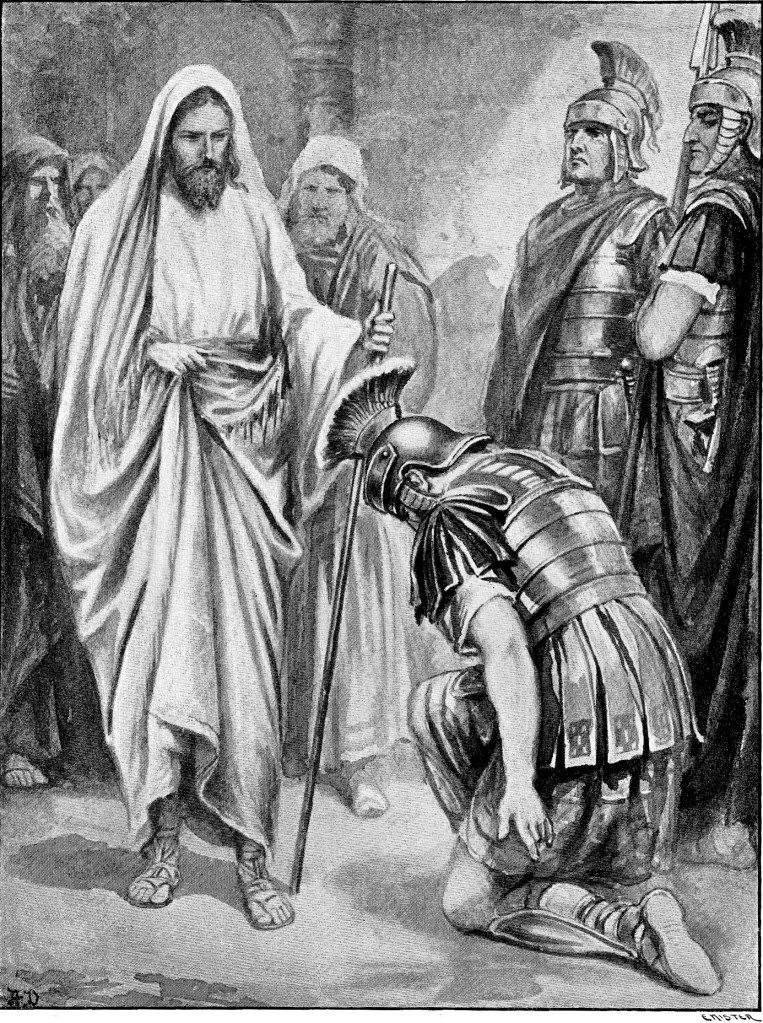 Healing the centurion's servant - Matthew 8:5-10