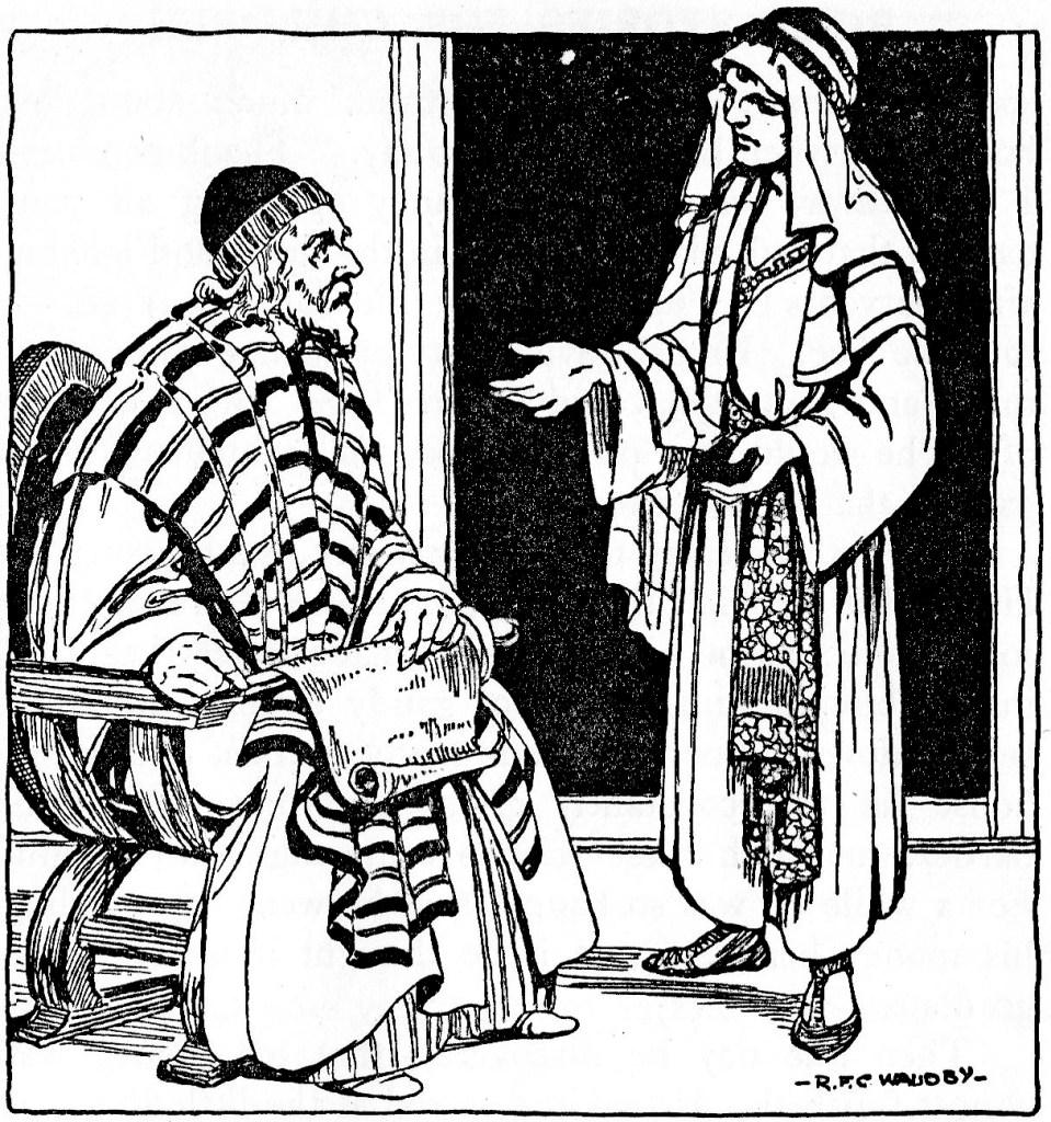 A son asks for his inheritance (Luke 15:12)