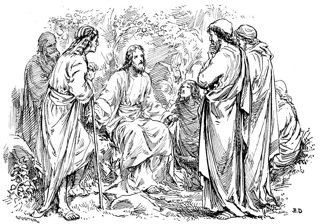 Jesus teaches the disciples - Matthew 20:17-29
