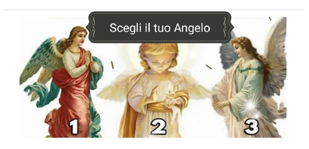 Scegli il tuo Angelo e ricevi un messaggio importante!