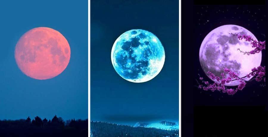 Scegli una luna e scopri le previsioni sul tuo futuro!
