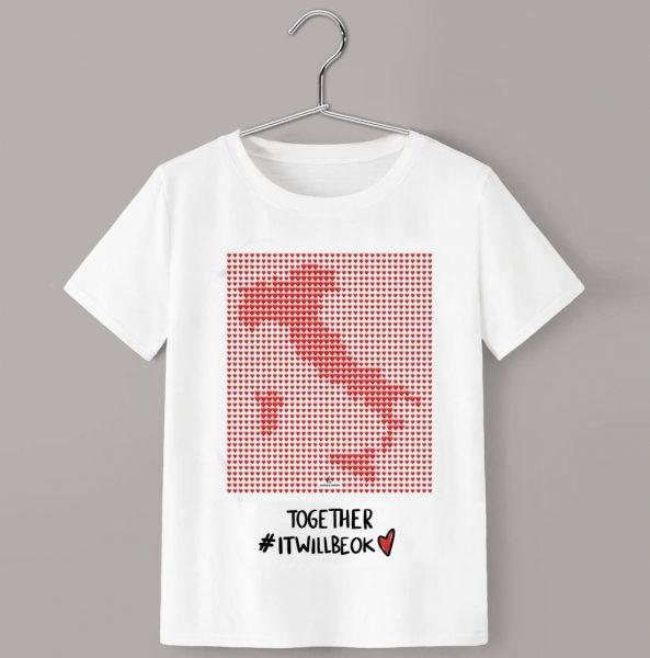 MOACONCEPT e HAIKURE una T-Shirt per sostenre l'emergenza sanitaria da Coronavirus