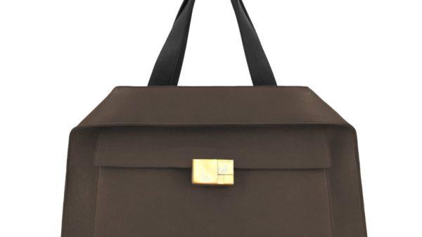 Calicanto nuova borsa AI 2021 Marco Polo Daybag color castano