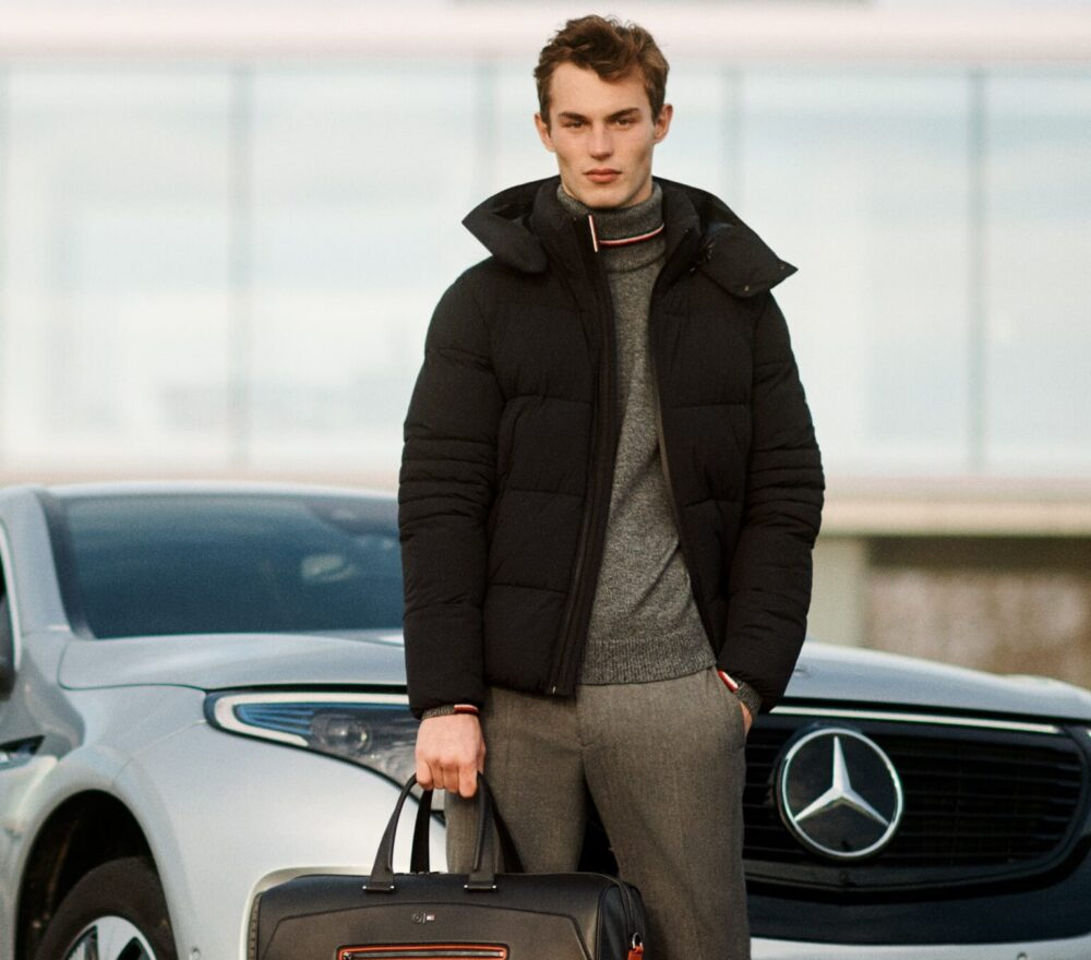 Abbigliamento_uomo_autunno_2020_Tommy_Hilfiger_Mercedes_Benz