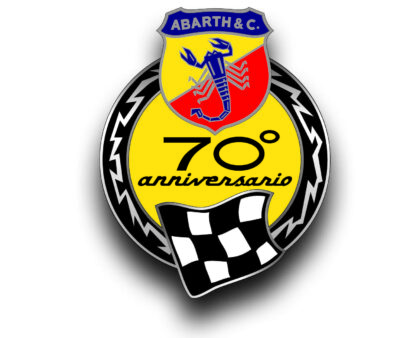 Logo Abarth 695 70 Anniversario Limited Edition