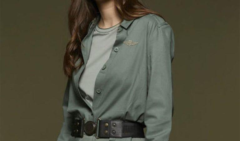 La donna di Aeronautica Militare nella collezione autunno-inverno 2021-22