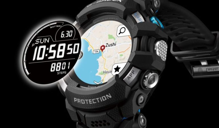 Con Google al polso, arriva il nuovo Smartwatch di Casio G-Shock