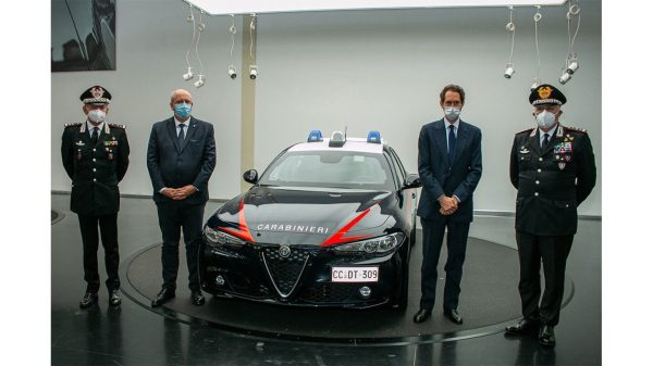 Nuova Alfa Romeo Giulia 2021 Carabinieri