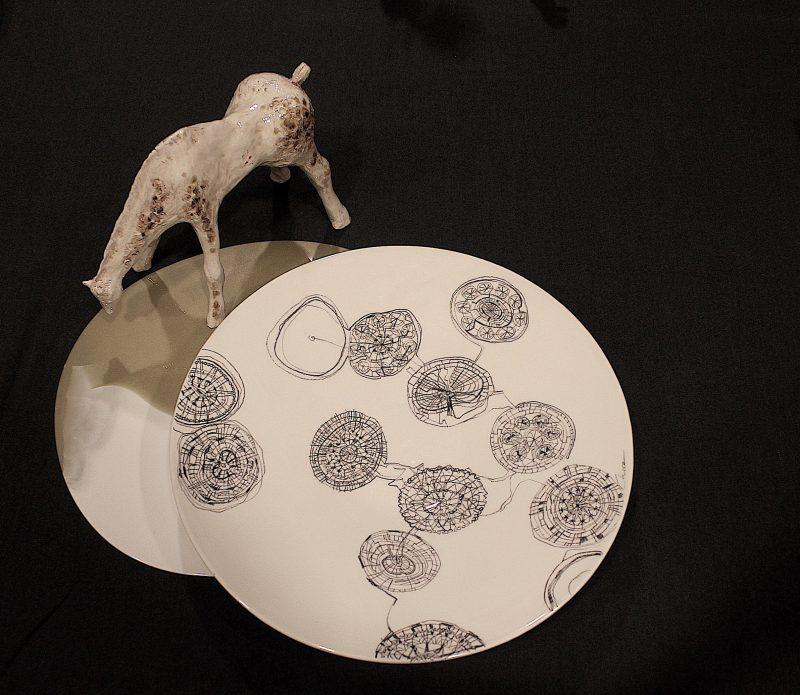 I piatti di Chiara Bernardini allo Spazio Pomandère