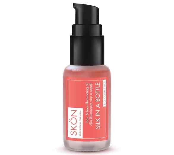 SKON_olio viso e capelli_silk in a bottle