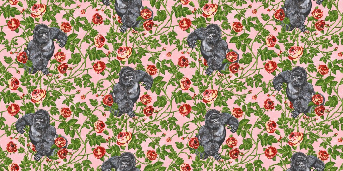 Simone Guidarelli x Officinarkitettura_King of Roses Walldesign