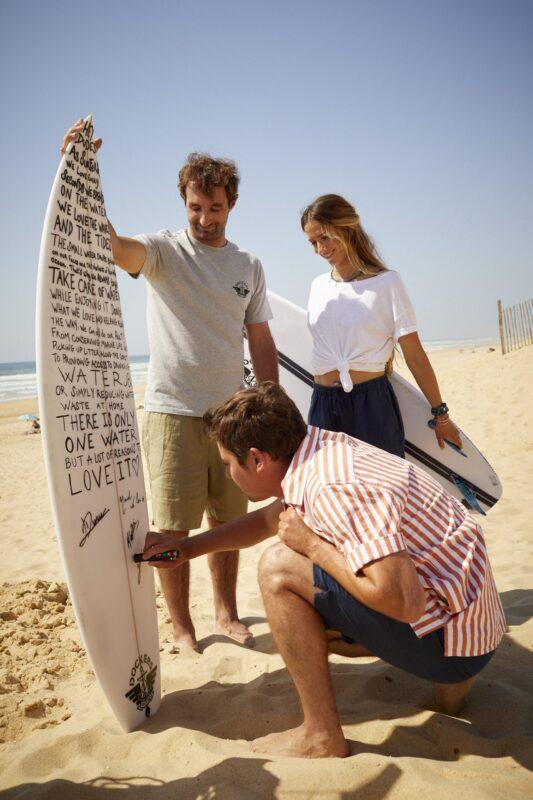 gli ambassador di Dockers® nella nuova campagna Love Water More