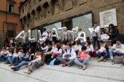 Allattamento al seno, flash mob a Marino, Genzano e Frascati