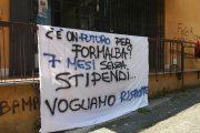 Il fallimento di Formalba lascia i lavoratori ancora senza stipendi