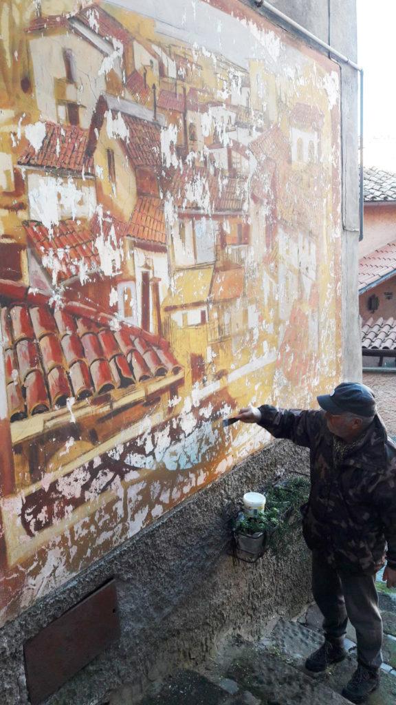 Rocca di Papa: comincia il restauro dei murales