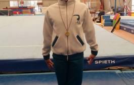 Boccia Flavia ai Campionati Individuali Allieve Gold per la Ginnastica Res Novae Velletri