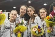 Frascati Scherma, quattro secondi posti ai campionati italiani a squadre Under 14