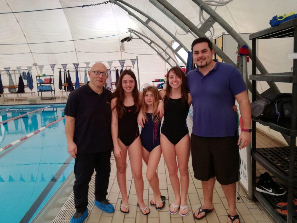 """Tc New Country Club Frascati (nuoto), Tavelli: «Che brave le """"debuttanti"""" alla trasferta di Siena»"""
