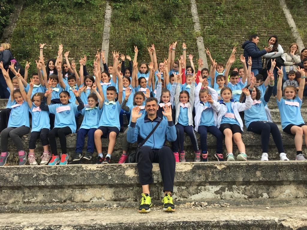 I giovani atleti di Rocca di Papa gareggiano alle provinciali di Frascati